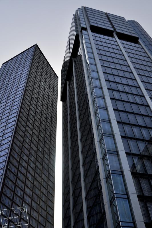 Frankfurt nad Menem dzielnica biznesowa