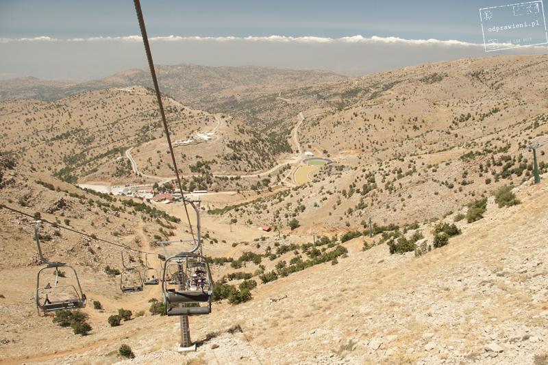 kolejka na wzgórza Golan