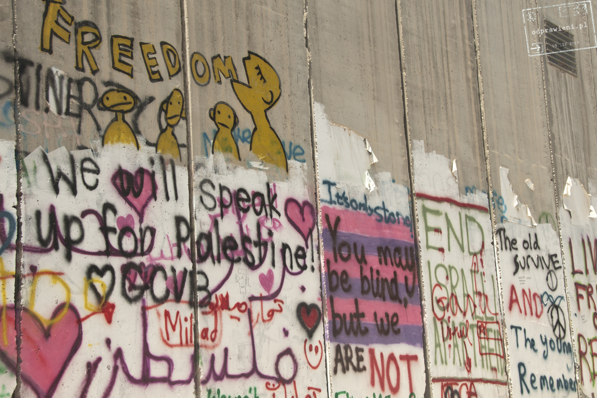 mur bezpieczeństwa Betlejem