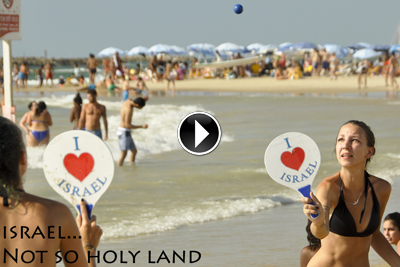 ISRAEL - NOT SO HOLY LAND